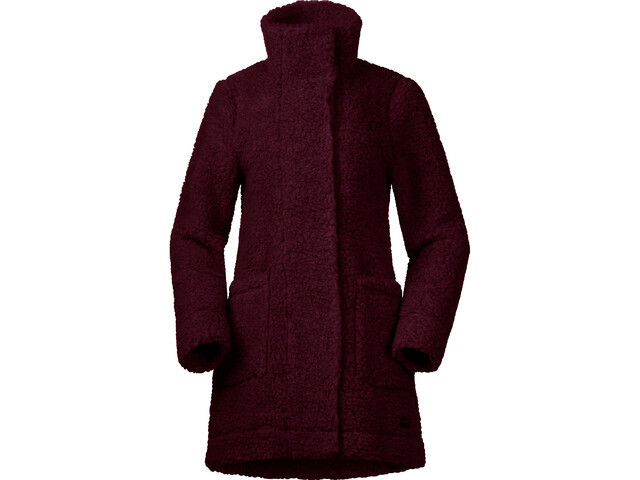Bergans Oslo Wool LooseFit Giacca Donna, zinfandel red melange
